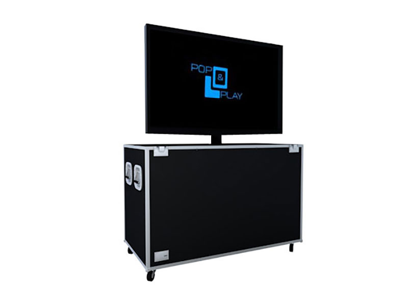 The Pop and Play TV Lift