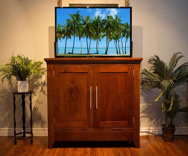 the florence tv lift cabinet