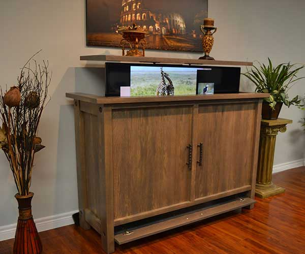 The Muskoka TV Lift Cabinet